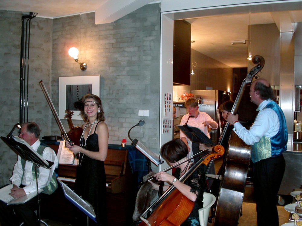 orkest bij Koksgasten dec 2003