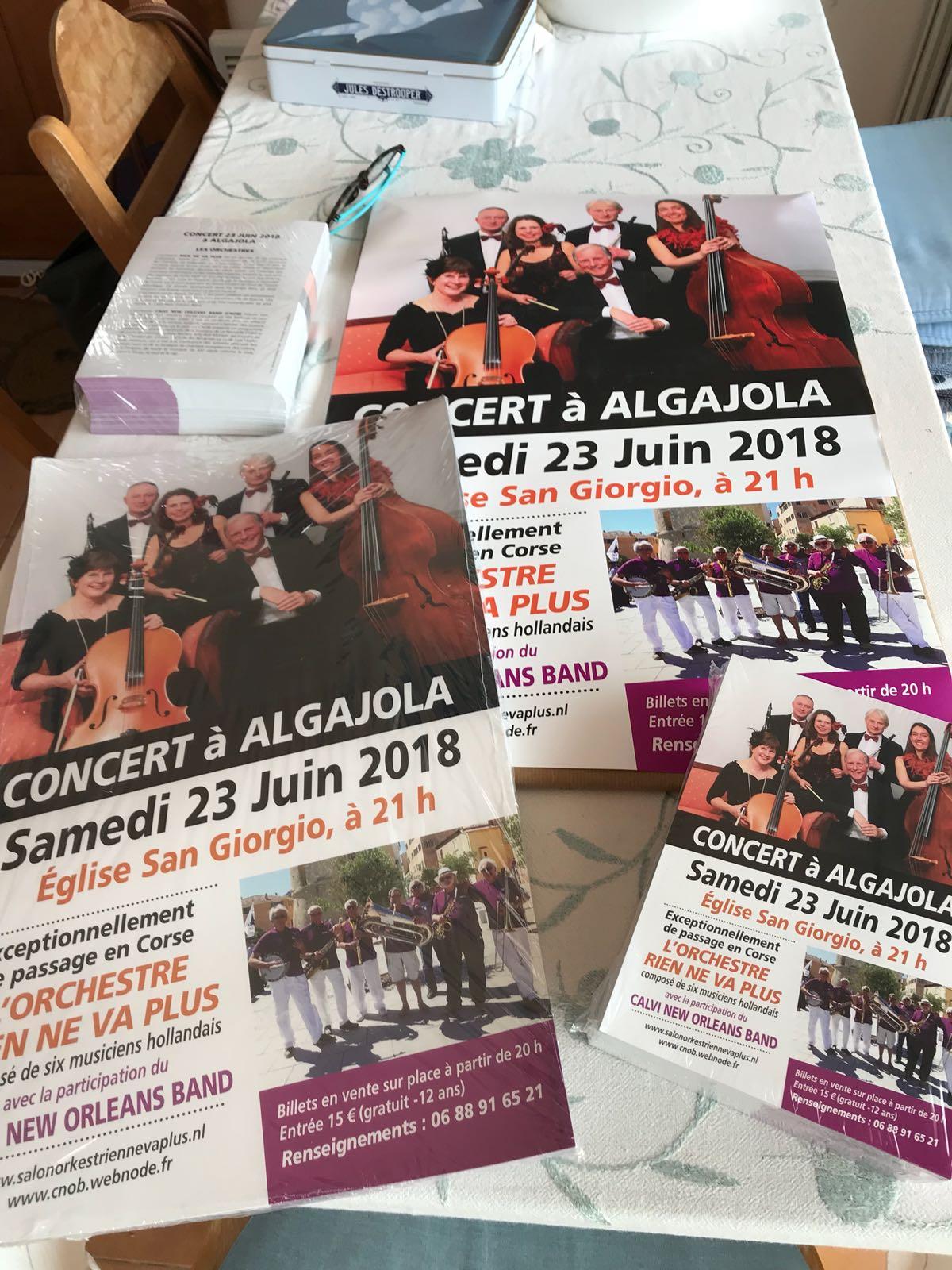 Corsica, jubileumconcert, 2018